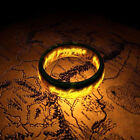 Fashion Men's Lord Of The Rings The One Ring Lotr Stainless Steel Ring Size 6-12