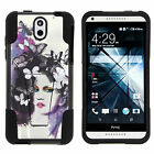 Case for HTC Desire 610 Hard Soft Camo Designs Colors Girly Manly