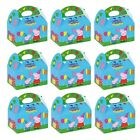Peppa Pig Kids Birthday Party Loot Bag Food Gift Cake Boxes 395-750