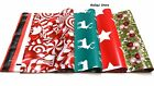 100 MIX HOLIDAY DESIGNER 10x13 MAILER POLY MAILING SHIPPING BAGS Des.15,36,37,38