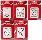 MOMENTUM Holiday/Christmas NAIL STICKERS Reindeer+Snowflakes+More *YOU CHOOSE*