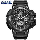 Men Digital Watches Military Waterproof Sport Watches Dual Time Display Alarm