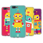 HEAD CASE DESIGNS ROBOTER KINDER SOFT GEL HÜLLE FÜR ONEPLUS 5