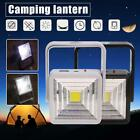 COB LED Camping Lantern Lamp Solar Power USB Rechargeable Hiking Emergency Light