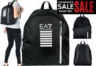 EMPORIO ARMANI EA7 BACKPACK BAGS - UNISEX ARMANI GYM, MESSENGERS, POUCH, LAPTOP