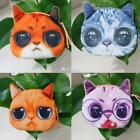 New Fashion Women Girls Lady Polyester Multi-color Cat Pattern Coin DZ88