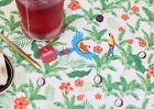Coco natural parrots 100% Cotton Fabric Parrot bird tropical Quilting H1/21-