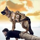 Dog Tactical Military Training Vest Harness with with 3 Detachable Pouches