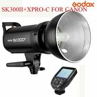 US Godox SK300II 300W 2.4G Studio Flash Strobe Light 110V + Wireless Transmitter