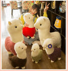 US Ship Lovely Llama Alpaca Sheep Fleece Stuffed Doll Baby Kids Plush Toys Gift