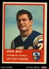 1963 Fleer #73 Ron Mix Chargers EX/MT $42.0 USD