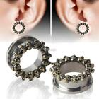 New Women Fashion Jewelry Charm Stainless Steel Skull Auricle Ear DZ88