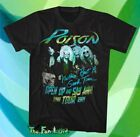 New Poison Open Up And Say Ahh! Tour 1988 1989 Mens Vintage Classic T-Shirt image
