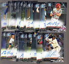 2017 BOWMAN DRAFT CHROME DRAFT PICKS AUTO AUTOGRAPH: COMPLETE YOUR SET YOU PICK on Ebay
