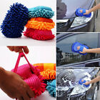 Car Hand Soft Towel Microfiber Chenille Washing Gloves Coral Fleece Gloves Auto.