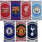 FOOTBALL PULSE COTTON TOWELS - MANCHESTER, ARSENAL, LIVERPOOL, CHELSEA & MORE