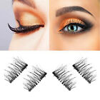 Single/Double/Three Magnetic 3D False Eyelashes 4pcs Long Natural - Best Reviews Guide