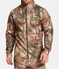 NEW UNDER ARMOUR MEN'S CAMO REALTREE XTRA FULL ZIP JACKET Sz Large 1248012 946