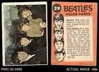 1964 Topps Beatles Color #29 Paul, John and Ringo with young boy GOOD