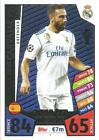 REAL MADRID Match Attax 2017/18 Champions League 2018 (1-18)