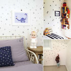 decorative stars for walls - 110Pcs Star Vinyl Wall Decal Art Sticker for Baby Nursery Kids Bedroom Decor