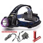 Convenient  LED T6 Charger Hunting Headlamp Night Bicycle Riding Headlights ED