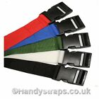 2 x 40mm   1.5meter   Side release Luggage/Suitcase TieDown Strap