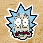 Grandpa Rick and Morty Sanchez Scientist Car Window Wall Die Cut Decal Sticker