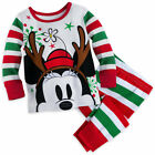 Disney Store Minnie Mouse Pajamas Baby Girls Size 0 3 6 9 12 18 24 Months