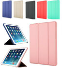 Luxury Slim Smart PU Leather Stand Cover Soft Silicone Back Case  (GG) For iPad