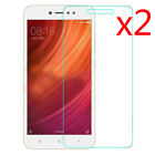 2X Xiaomi Redmi Note 4 5A 9H Premium Tempered Glass Screen Protector Guard Film