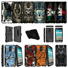 For LG Risio 2 | LG Rebel 2 | LG LV3 (2017) Clip Armor Case - Tough Designs