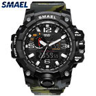 Fashion Men's Camouflage Military Waterproof Watch LED Electronic Wrist Watches