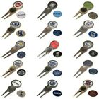 Premier Licensing Golf Divot Tool and Marker Set Football Club Pitch Repairer