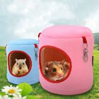 Flannel Cylinder Pet House Warm Hamster Hammock Hanging Bed Small Pets Nest