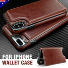 Flip Leather Wallet Case Shockproof Cover For Iphone 12 Mini Pro Max 11 Xs Xr 8