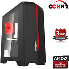 Customize Mega Fast Amd Home Gaming Computer Radeon 16gb Ddr4 Wifi Desktop Pc Cr