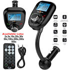Wireless Bluetooth Car Kit FM Radio Transmitter USB Charger Aux Music MP3 Player