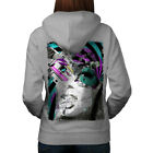 Retro 90s Stylish Fashion Women Hoodie Back NEW | Wellcoda