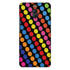 AMZER  Funky Dot Stripes HARD Protector Case Snap On Slim Phone Cover Accessory