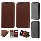 For ZTE Avid 4 Premium Wallet Case Pouch Flap STAND Case Phone Cover Accessory