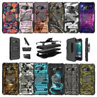 For HTC U11 Life Shockproof Protective Dual Layer Kickstand Case - Camos