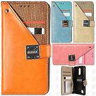 For LG Aristo 2 Premium Front Pocket Wallet Case Pouch Cover Accessory