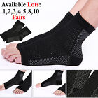 2 FOOT ANTI FATIGUE COMPRESSION ANKLE SWELLING PAIN ARCH RELIEF YOGA HEEL SOCKS