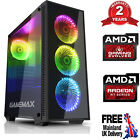 Customize Mega Fast Amd Home Gaming Computer Radeon 16gb Ddr4 Wifi Desktop Pc Dc