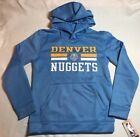 NWT NBA Denver Nuggets Youth Hoodie Sweatshirt Medium 10/12 or Large 14/16 on eBay