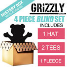 Grizzly Griptape Outfit 4 Piece Set Blind Box Hat Shirt Fleece