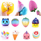 Lot Jumbo Squishy Super Soft Slow Rising Squeeze Toy Stress Relief Toys Lovely