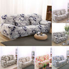 Soft Floral Sofa Loveseat Armchair Cover Slipcover 1 2 3 4Seater Stretch 7 Color