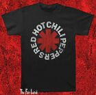 New Red Hot Chili Peppers Classic Distressed Logo Vintage Concert Mens T-Shirt  image